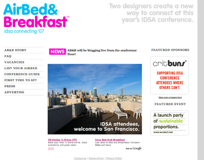 airbnb design launch tomorrow