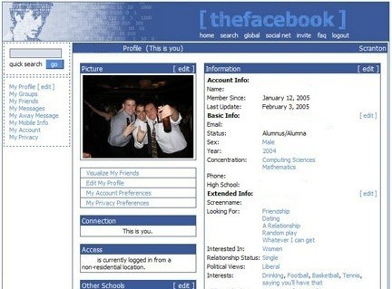 old facebook wall launch tomorrow